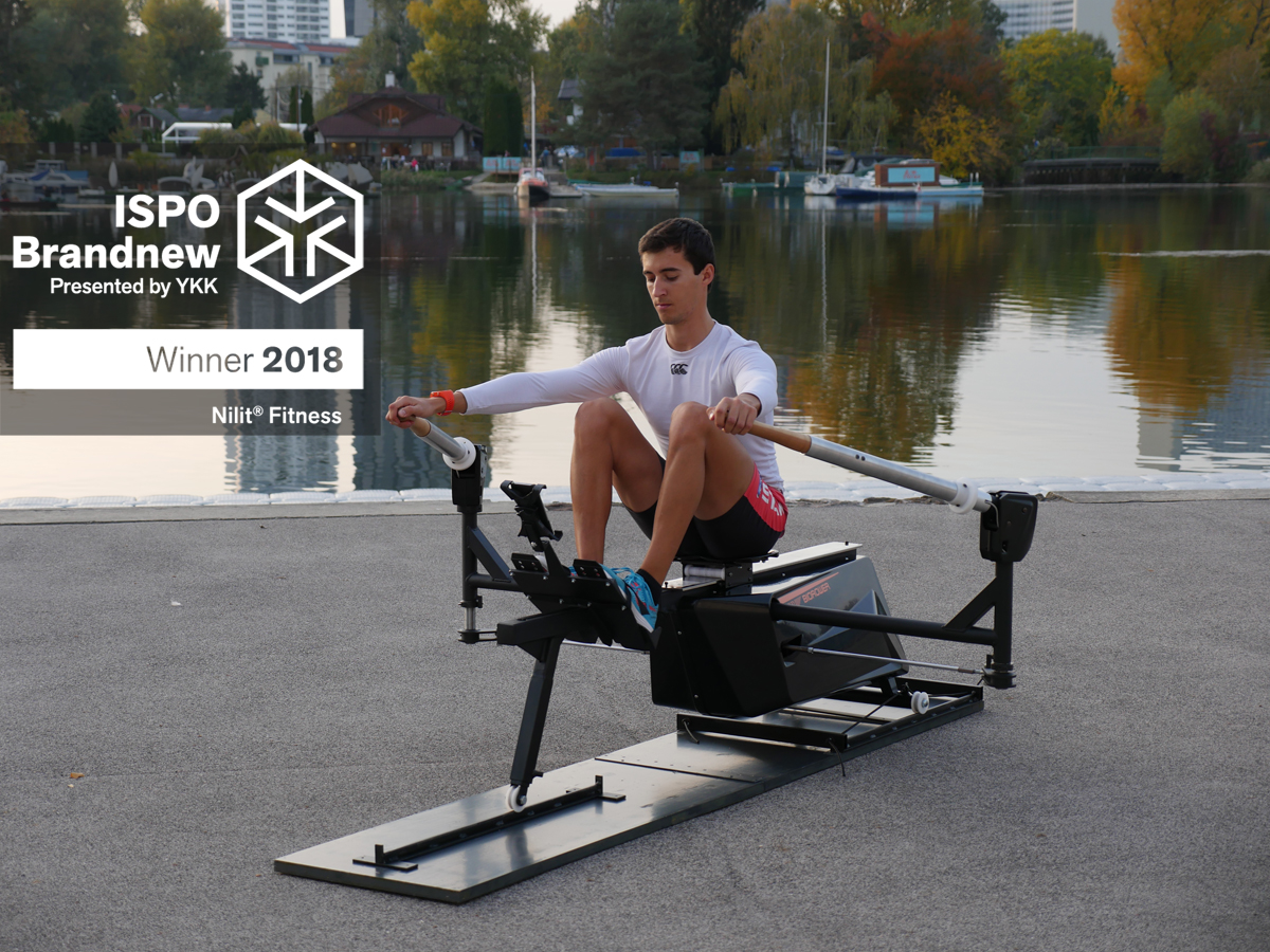 The most relistic rowing machine on the market has been awarded the prestigious ISPO Brandnew award for its ultra realistic rowing feeling.