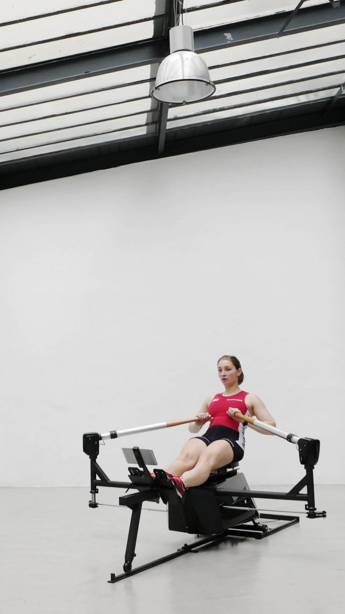 Biorower S1club 2020 - 1 is the most realistic indoor rowing in the world